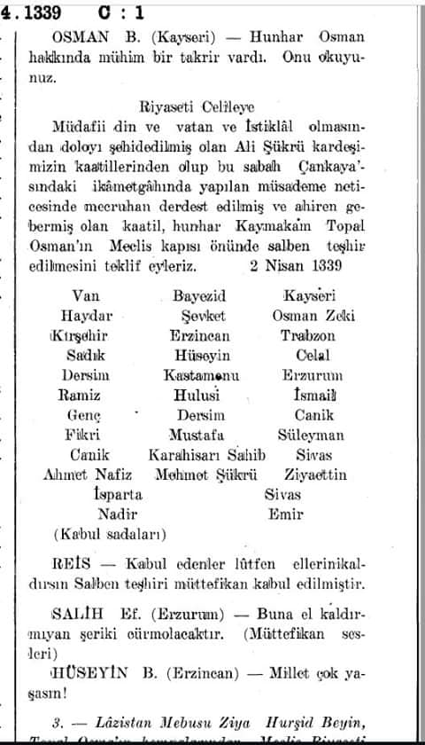 topal osman'ın salben teşhiri